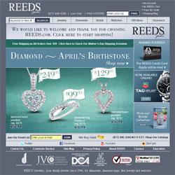 templatepanic sample web design of jewelry