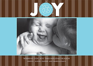 personal christmas greeting card
