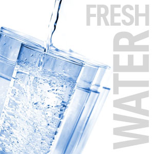 drink fresh water