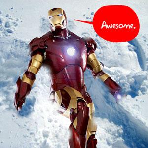 snow ironman