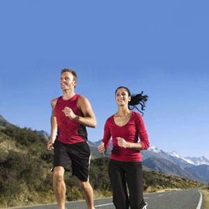 running healthy