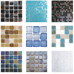 glass block tiles