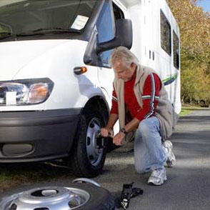 flat tire help