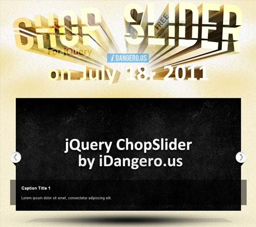chop slider