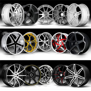 Custom Wheels  on Automotive Lovers Rims Are The Most Important Components In The Car