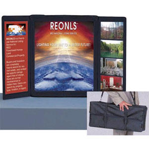 toptable display compact portable