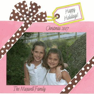 christmas greeting photo cards
