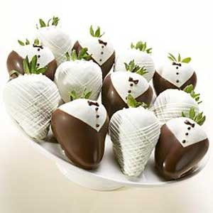 gourmet gift chocolate berries